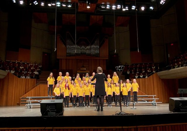 Victoria Sings at UVic.  Great work Marigold Choir!
