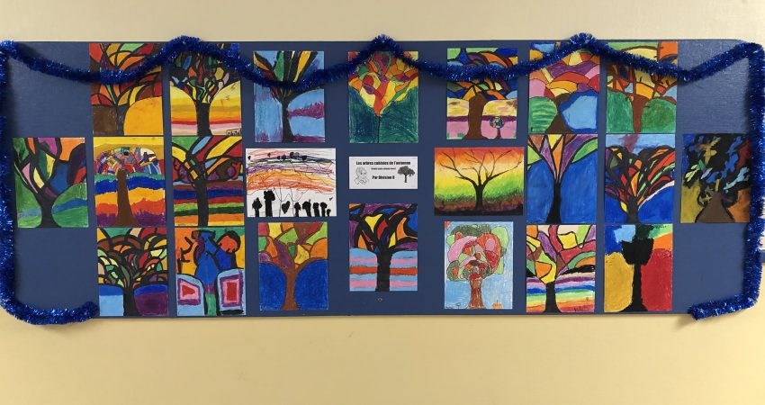 Trees by Division 8